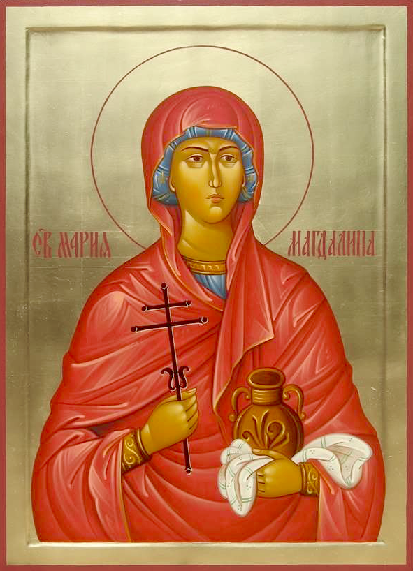 Марія Магдалина. Ікона