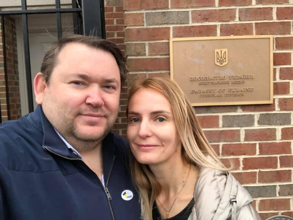 Владислав Рашкован с супругой