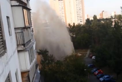 Новости Киева — В Киеве из-за аварии появился