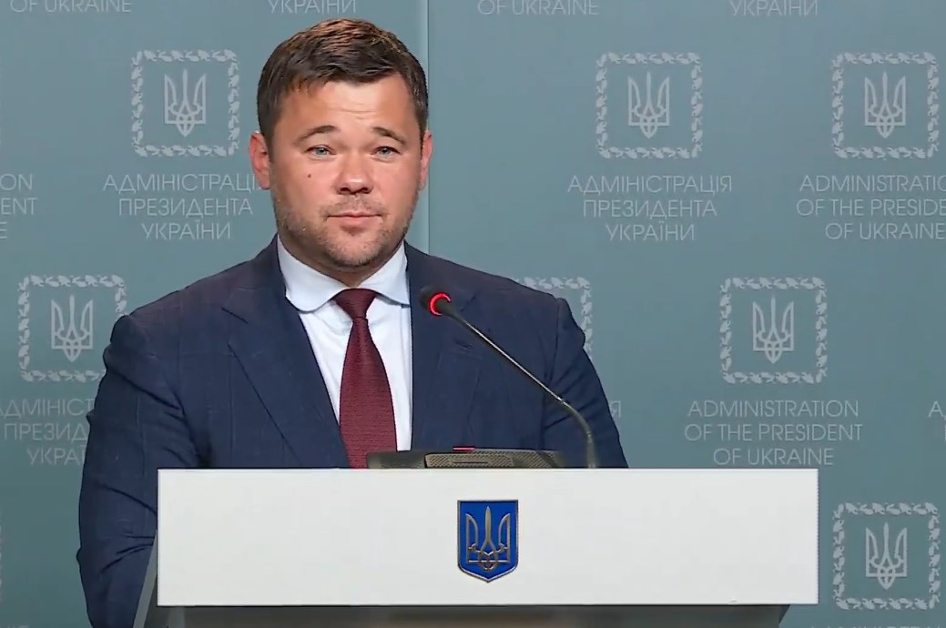 Андрей Богдан объявил о том, что покидает кресло главы Офиса президента