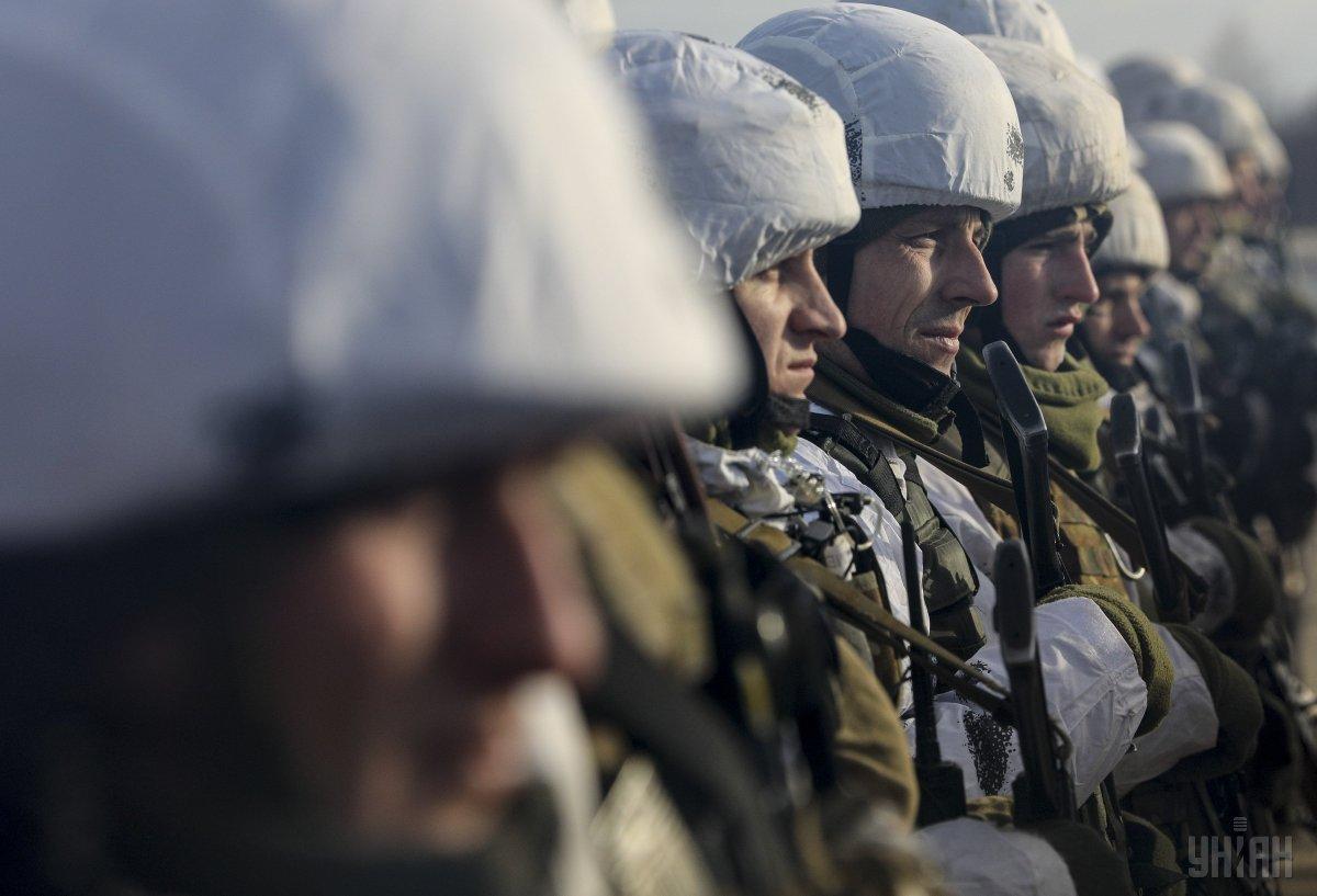 ВСУ бойцы солдаты