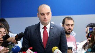 Мамука Бахтадзе не оценил эмоциональное заявление в прямом эфире / Фото: Эхо Кавказа