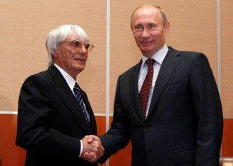 Владимир Путин, Берни Экклстоун