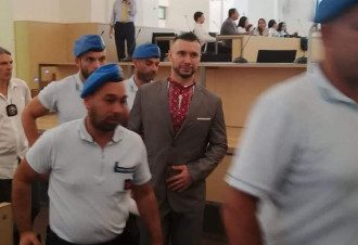 Виталий Маркив в суде
