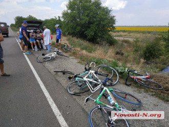ДТП с велосипедистами в Николаеве
