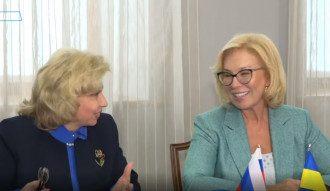 Москалькова и Денисова встретились в Москве