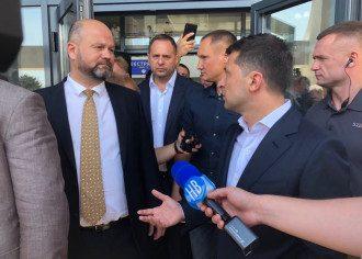 Зеленский наехал на и.о.главы Николаевской ОГА
