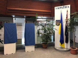Первый избирательный участок закрыт / Facebook Посольства Украины в Австралии