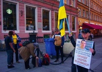 Женщина принимала участие в правозащитных акциях протеста / Фото: Facebook/Елена Григорьева