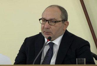 """Геннадий Кернес публично назвал Михаила Саакашвили """"дурковатой людиной"""" / Скриншот с видео"""