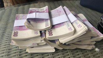 Изъяты почти две тысячи купюр с признаками подделки номиналом по 500 евро / Фото пресс-службы прокуратуры