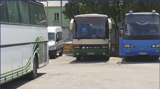 """Автобусы возили людей из Одессы в """"ЛНР"""" и обратно / Фото: СБУ"""