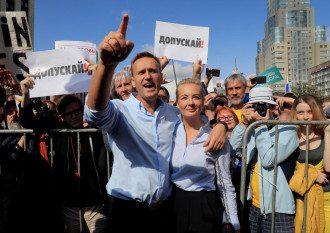 Протести в Росії, Олексій Навальний