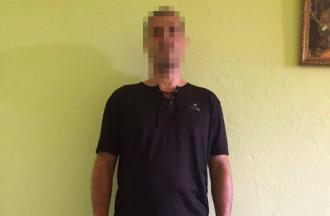 Хулигана задержали, ему грозит ограничение или лишение свободы на срок до пяти лет / Фото Нацполиции