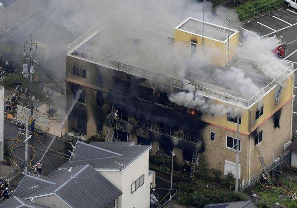 Пожар в Киото — В Киото произошел пожар в офисе компании Kyoto Animation, много жертв