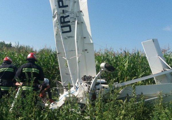 В Черновицкой области рухнул дельтаплан, есть пострадавшие