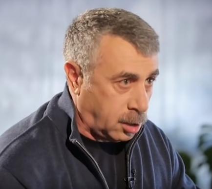 Евгений Комаровский - Евгений Комаровский разбил