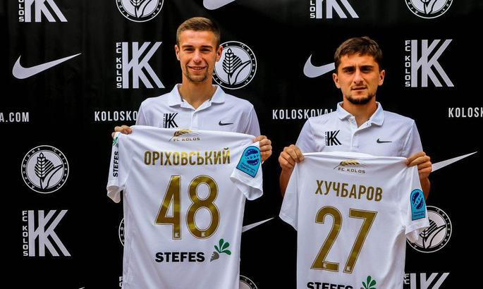 Павел Ориховский и Камиль Хучбаров стали игроками Колоса