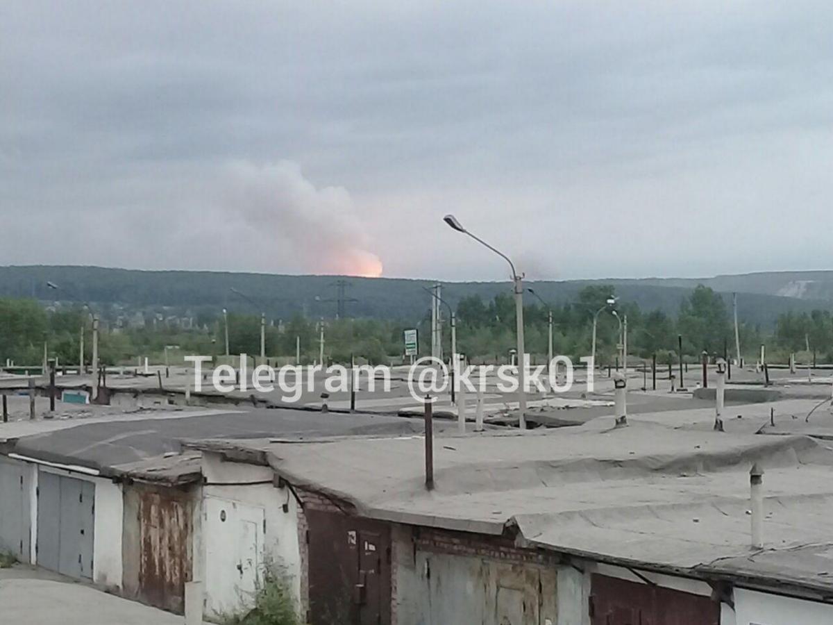 Взрывы в России - В Красноярском крае произошли взрывы на складе с боеприпасами