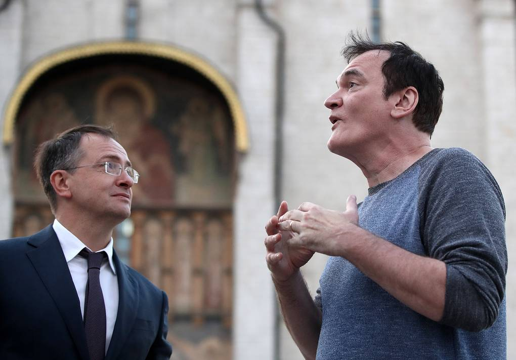 Квентин Тарантино в Москве