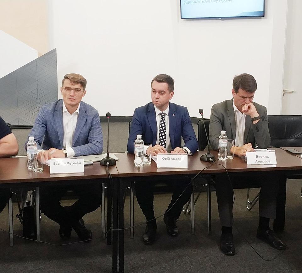Слева направо: Василий Фурман, Юрий Мардак и Василий Андреев