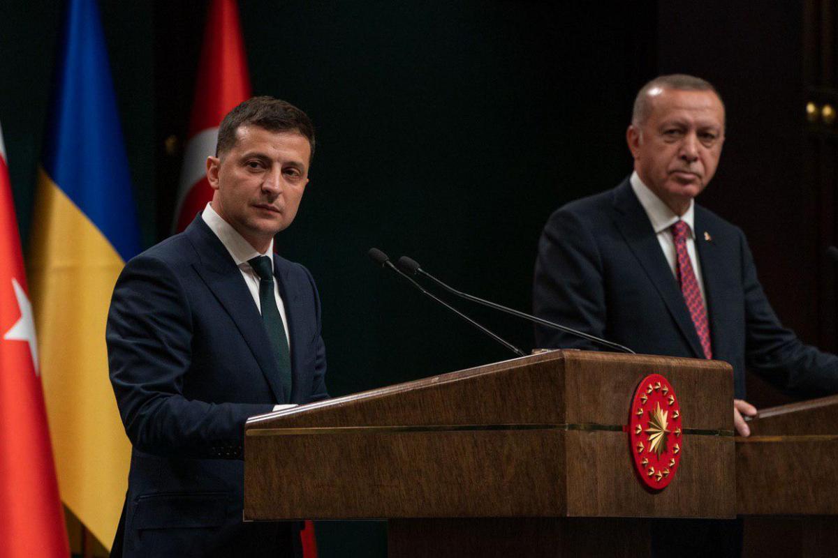 Владимир Зеленский, Раджеп Таип Эрдоган, Турция