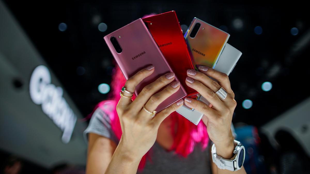 Новые смартфоны Samsung - Samsung представил Galaxy Note 10