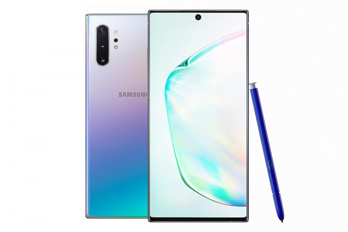 Samsung представил Galaxy Note 10+
