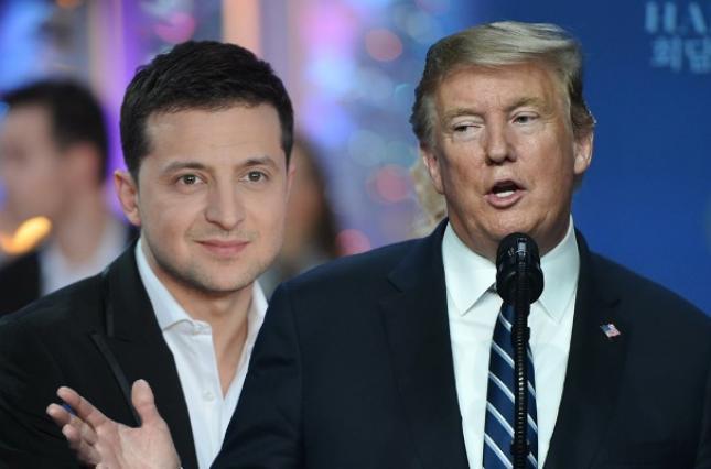Владимир Зеленский и Дональд Трамп поговорят о прекращении войны на Донбассе, сообщил Александр Данилюк - Зеленский - Трамп