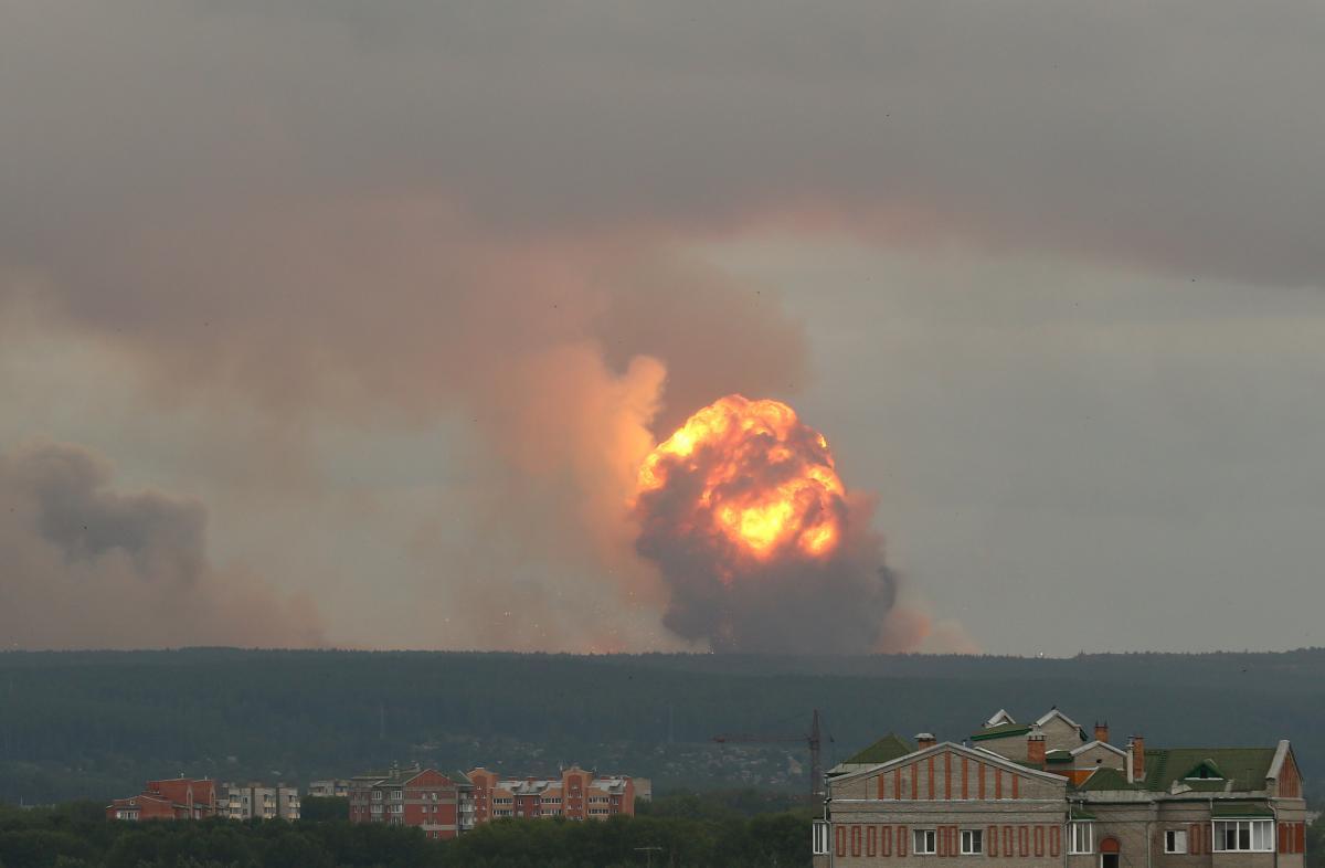 Взрыв, Россия, Ачинск, Красноярский край