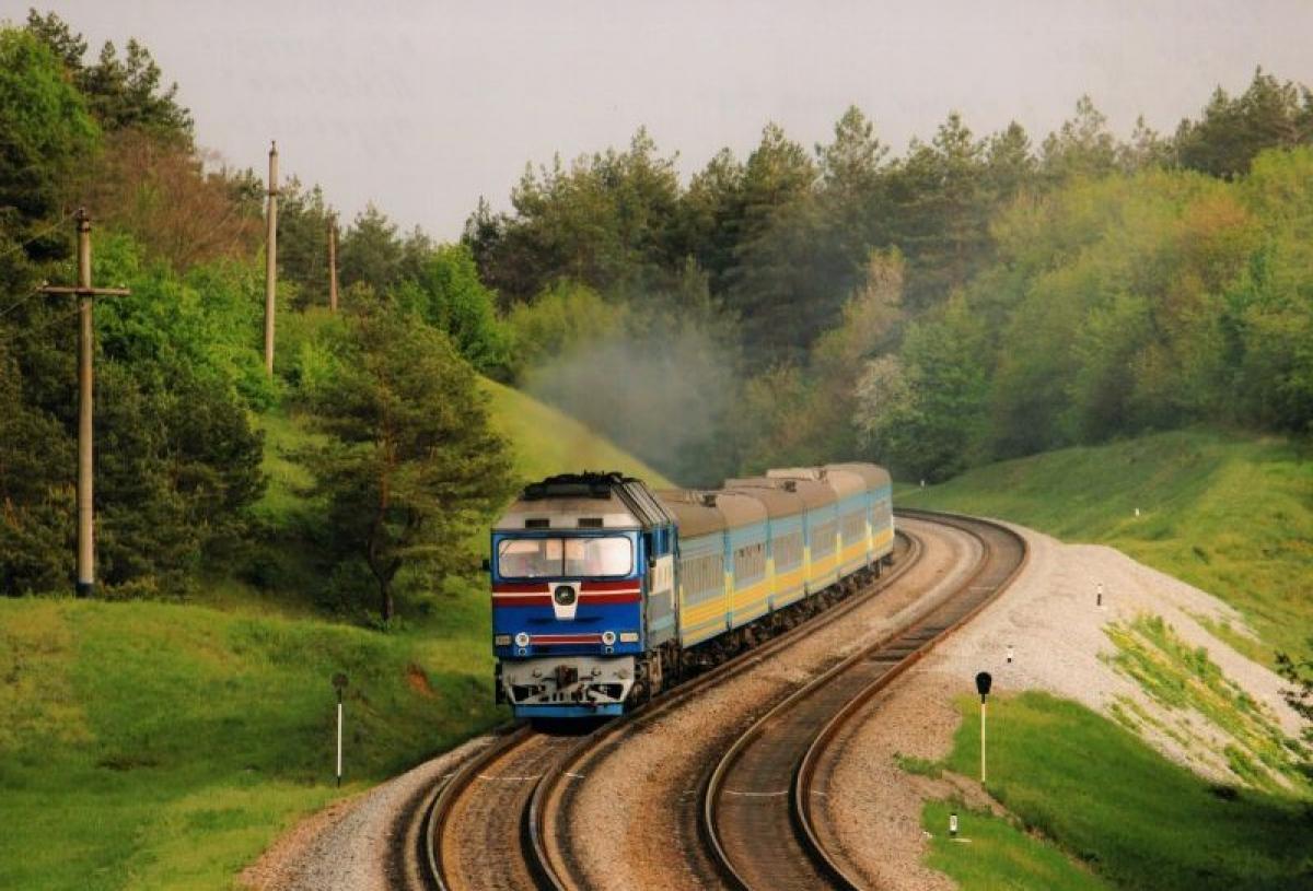 поїзд, Укрзалізниця