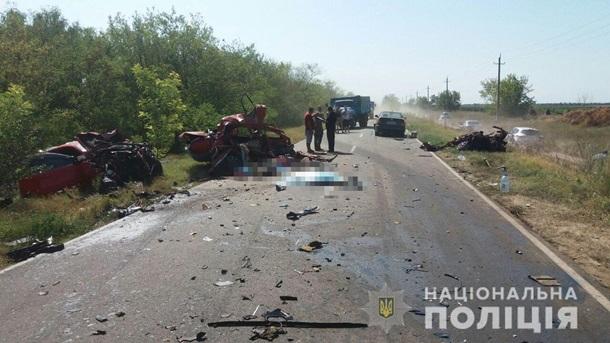 В Одесской области в ДТП погибли четыре человека