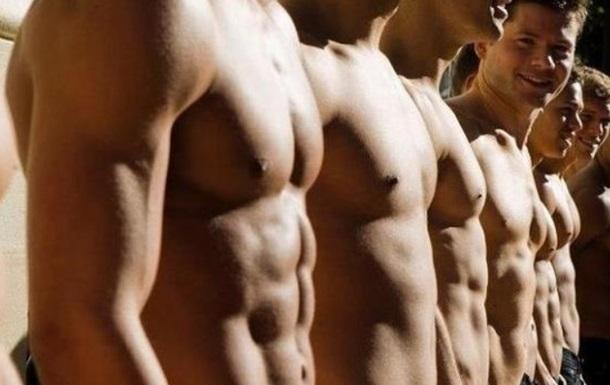 Фитнес, мужчины, пресс