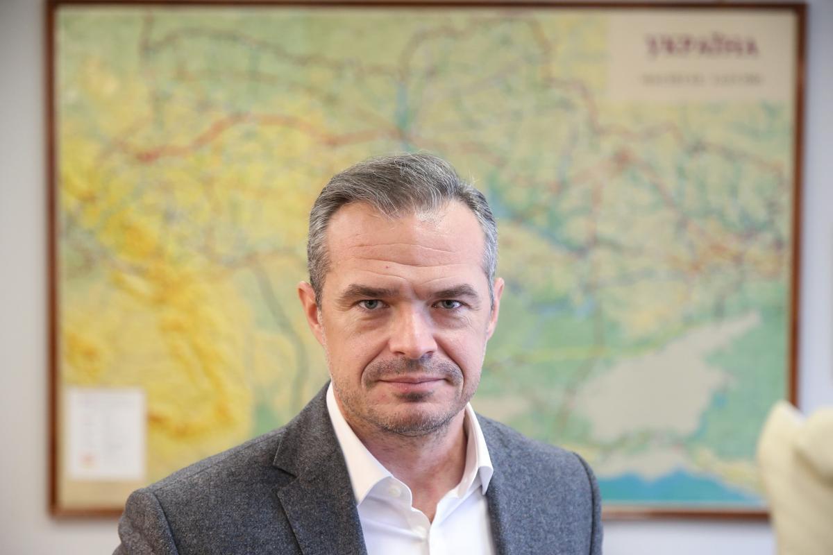 Славомир Новак подал заявление об отставке с должности главы Укравтодора