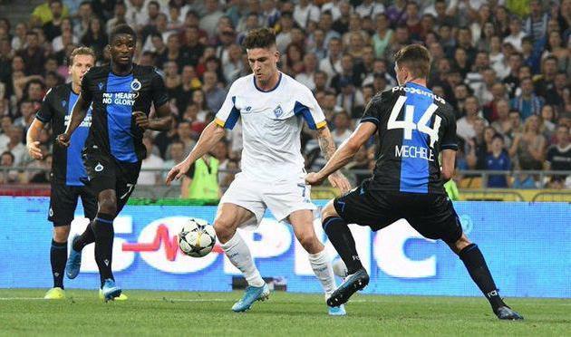 Брюгге выбило Динамо из Лиги чемпионов
