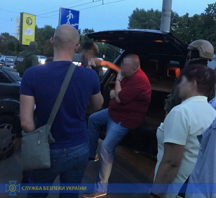 Задержание Юрия Грымчака