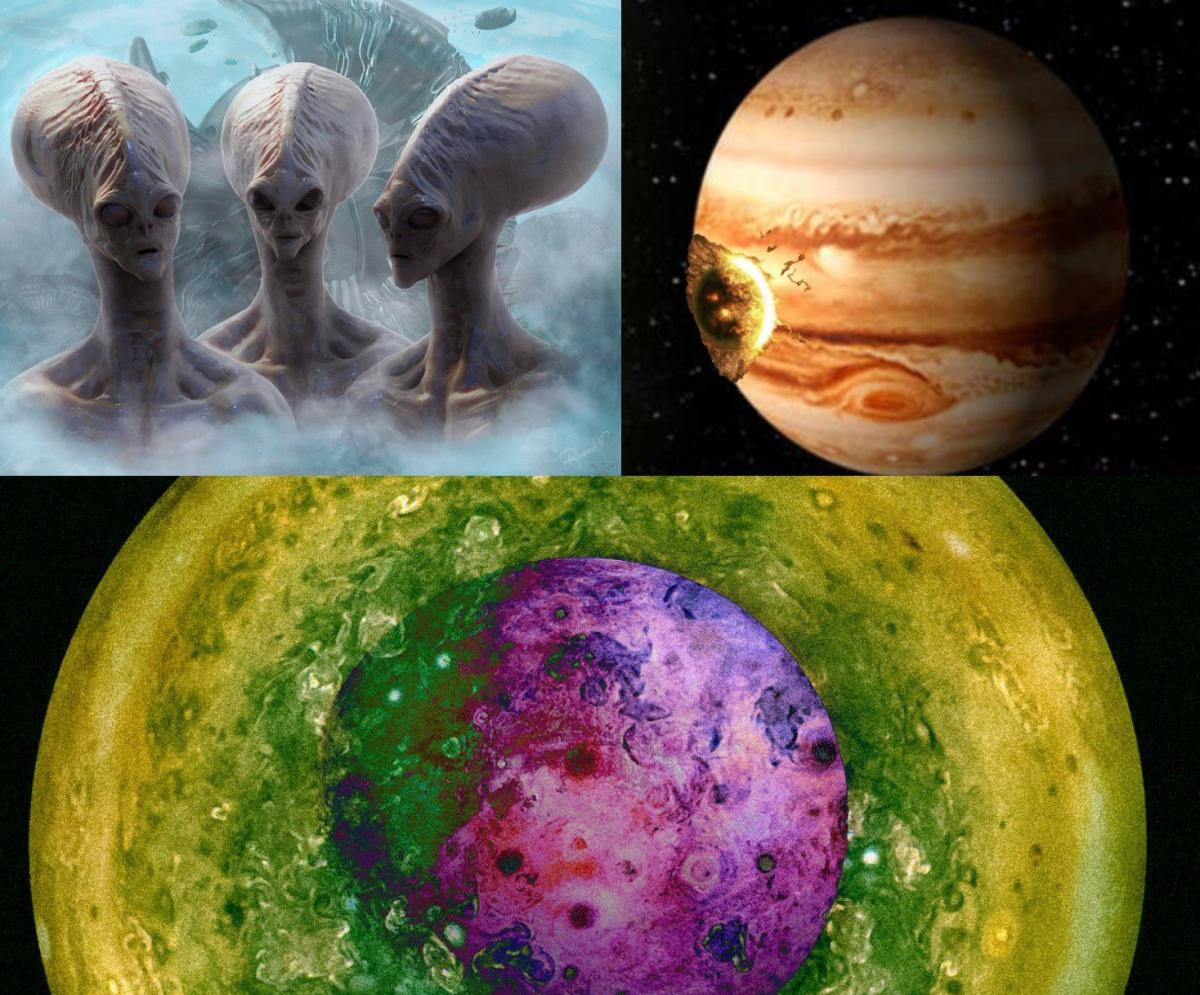 Некоторые ученые считают, что Юпитер засосал Нибиру