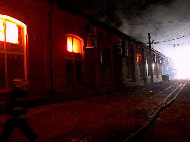 Пожар, Токио, Одесса