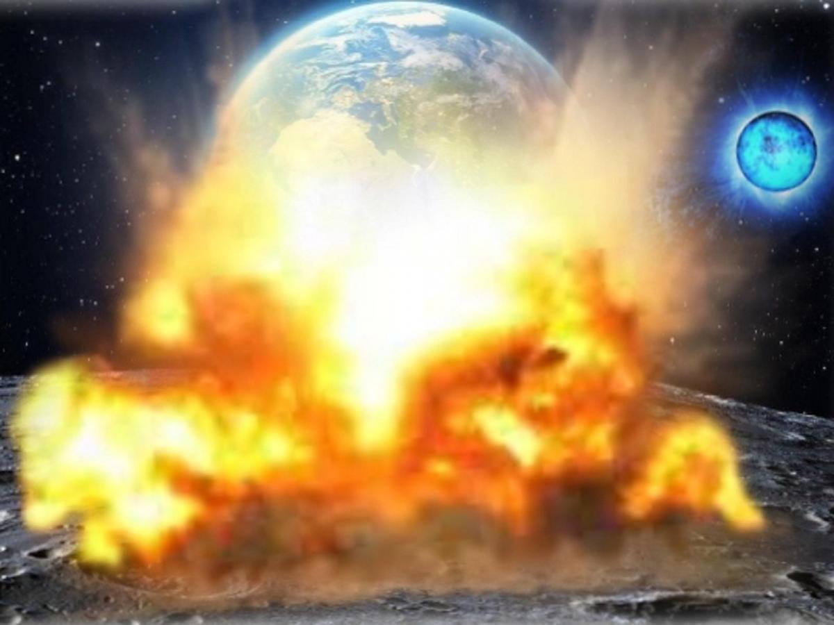 Супероружие Нибиру разбомбило Луну