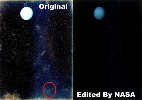 Уфолог заметил, что NASA редактирует фотографии Луны