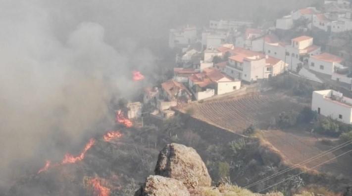 Пожары на Канарских островах