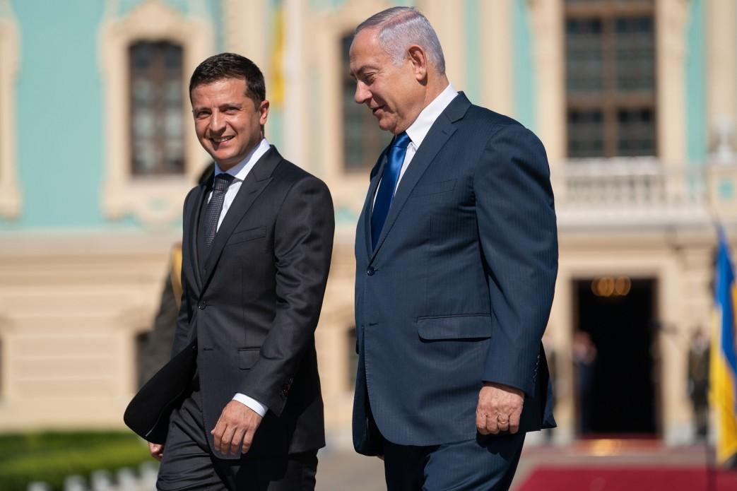 Нетаньяху Зеленский