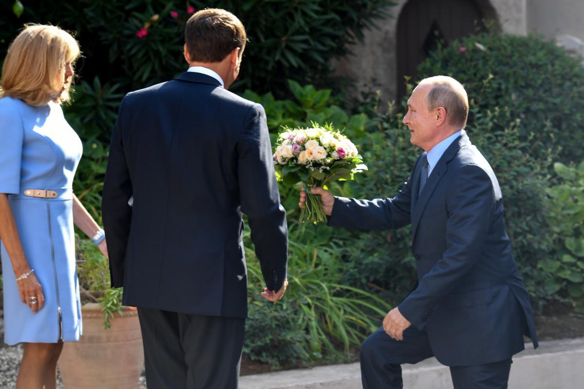 Владимир Путин, Бриджит Макрон