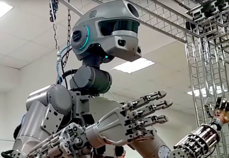Робот Федор не попал на МКС
