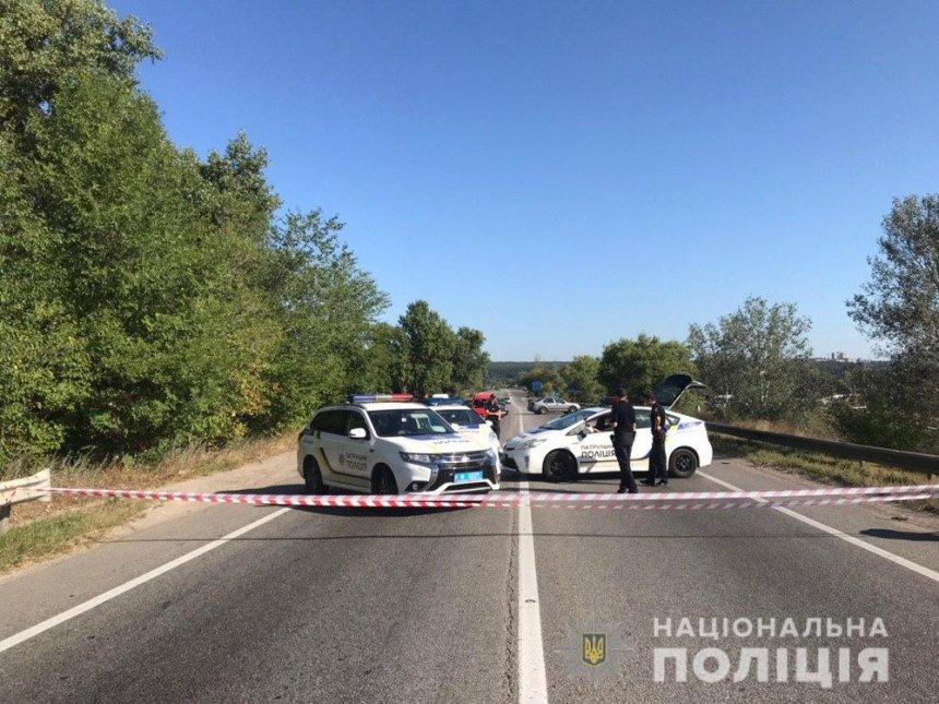В Харькове обрушился мост