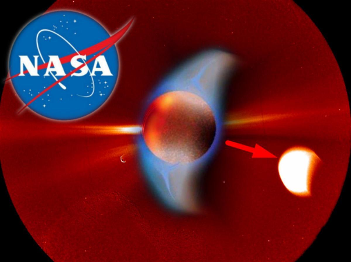 NASA сняло затмение Нибиру