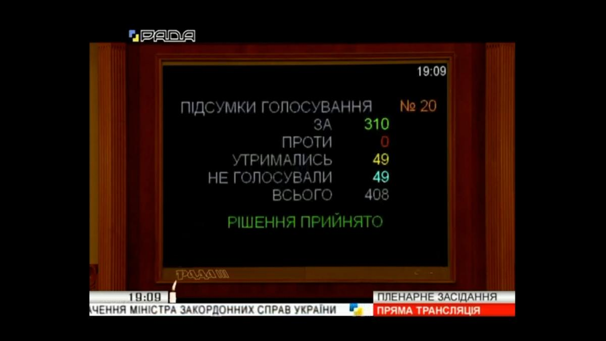 Рада назначила нового министра иностранных дел