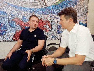 Виктор Лещинский (слева) и Василий Андреев