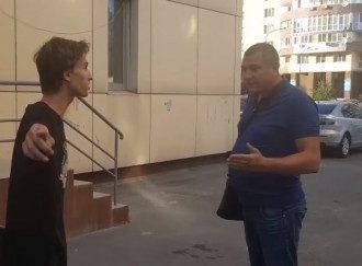 Алексей Школьный придрался к детям на улице