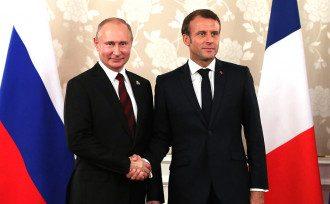 Путин, Макрон
